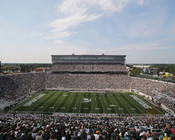 Michigan State Spartans at Spartan Stadium Poster