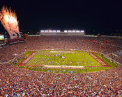 Florida State Seminoles at Doak Campbell Stadium Poster