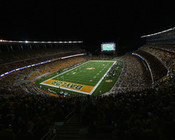 "Baylor Bears ""Endzone"" at McLane Stadium Poster"