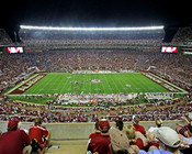 "Alabama Crimson Tide ""50 Yard Line"" at Bryant Denny Stadium Poster"
