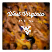 West Virginia Faithful Wall Art Art