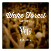 Wake Forest Faithful Wall Art Art