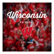 Wisconsin Faithful Wall Art Art