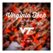 Virginia Tech Faithful Wall Art Art