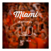 Miami Faithful Wall Art Art