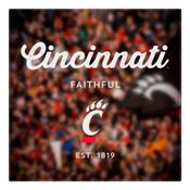 Cincinatti Faithful Wall Art Art