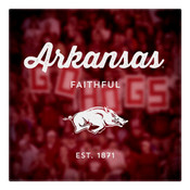 Arkansas Faithful Wall Art Art
