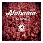 Alabama Faithful Wall Art Art