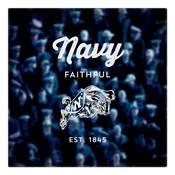 Navy Faithful Wall Art Art