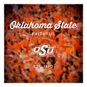 Oklahoma State Faithful Wall Art Art