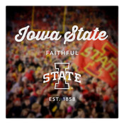 Iowa State Faithful Wall Art Art