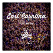 East Carolina Faithful Wall Art Art