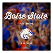 Boise State Faithful Wall Art Art