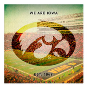 We are Iowa Wall Art