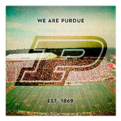 We are Purdue University Wall Art