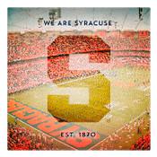 We are Syracuse University Wall Art