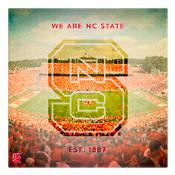 We are North Carolina State University Wall Art