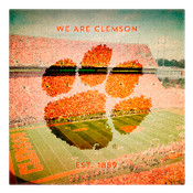 We are Clemson University Wall Art