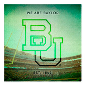 We are Baylor University Wall Art