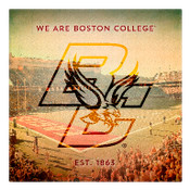 We are Boston College Wall Art