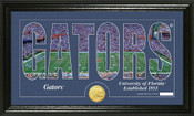 "Florida Gators ""Silhouette"" Photo Mint"