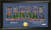 """Kansas Jayhawks """"Silhouette"""" Photo Mint"""