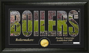 "Purdue Boilermakers ""Silhouette"" Photo Mint"