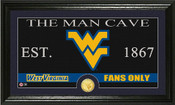 "West Virginia Mountaineers ""Man Cave"" Photo Mint"