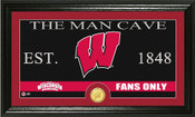 "Wisconsin Badgers ""Man Cave"" Photo Mint"