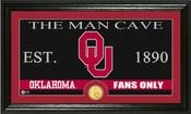 "Oklahoma Sooners ""Man Cave"" Photo Mint"