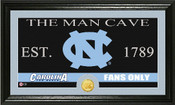 "North Carolina Tar Heels ""Man Cave"" Photo Mint"