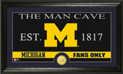 "Michigan Wolverines ""Man Cave"" Photo Mint"