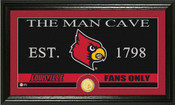 "Louisville Cardinals ""Man Cave"" Photo Mint"