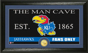 "Kansas Jayhawks ""Man Cave"" Photo Mint"