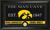 "Iowa Hawkeyes ""Man Cave"" Photo Mint"