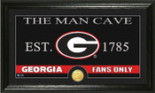"Georgia Bulldogs ""Man Cave"" Photo Mint"