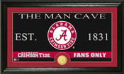 "Alabama Crimson Tide ""Man Cave"" Photo Mint"