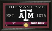 "Texas A&M Aggies ""Man Cave"" Photo Mint"