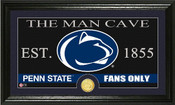 """Penn State Nittany Lions """"Man Cave"""" Photo Mint"""