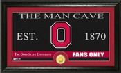 "Ohio State Buckeyes ""Man Cave"" Photo Mint"