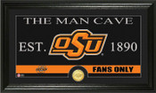 "Oklahoma State Cowboys ""Man Cave"" Photo Mint"