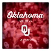 Oklahoma Faithful Wall Art Art