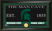 "Michigan State Spartans ""Man Cave"" Photo Mint"