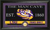 """LSU Tigers """"Man Cave"""" Photo Mint"""