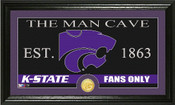 "Kansas State Wildcats ""Man Cave"" Photo Mint"