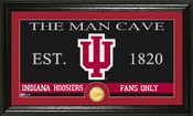 "Indiana Hoosiers ""Man Cave"" Photo Mint"