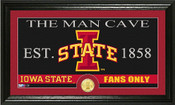 "Iowa State Cyclones ""Man Cave"" Photo Mint"
