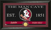 "Florida State Seminoles ""Man Cave"" Photo Mint"