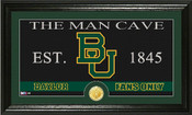 "Baylor Bears ""Man Cave"" Photo Mint"