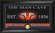 "Auburn Tigers ""Man Cave"" Photo Mint"